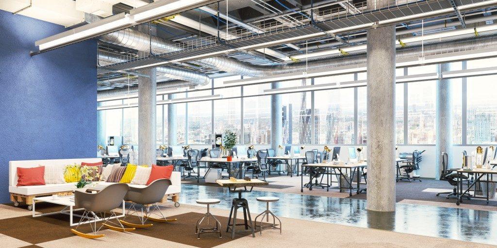 open workspace design