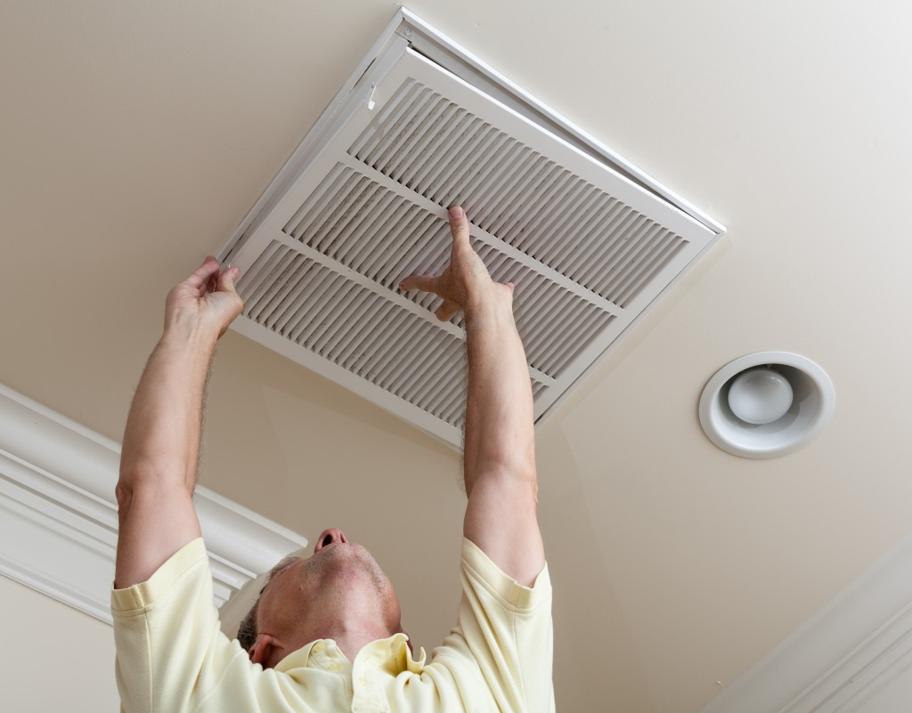 air vent installation