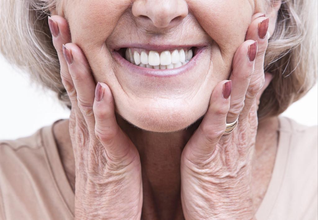 old woman teeth