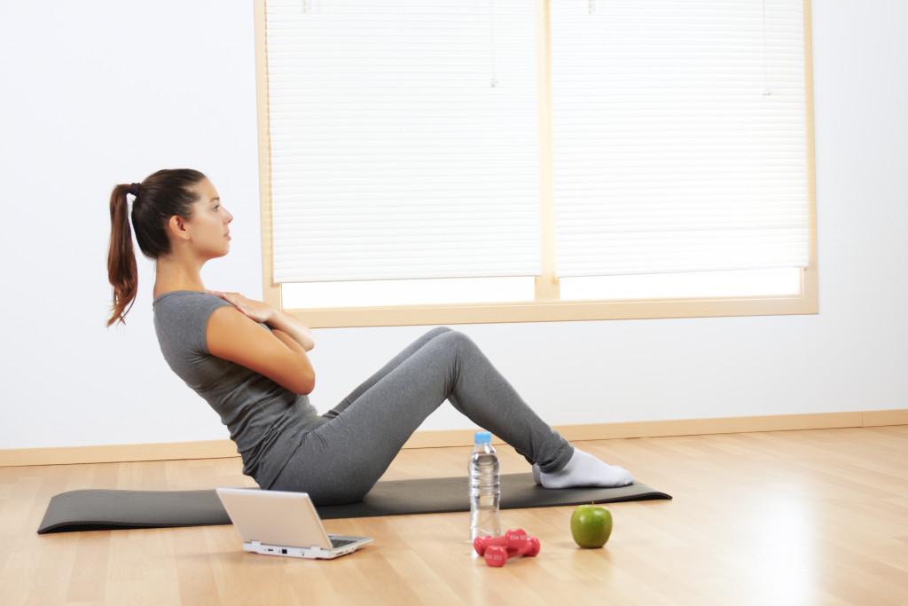 home gym concept