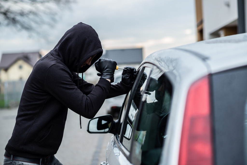 a car theft